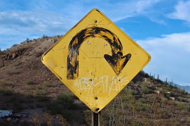 Old U-Sign