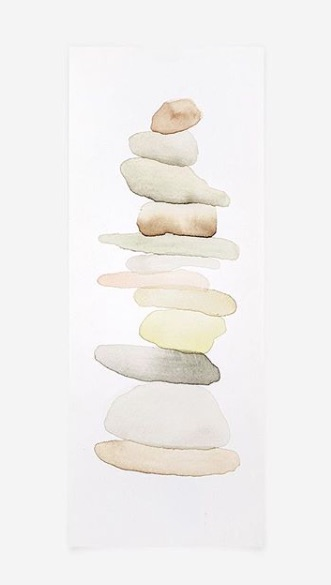 Watercolor balance - Allison Kunath