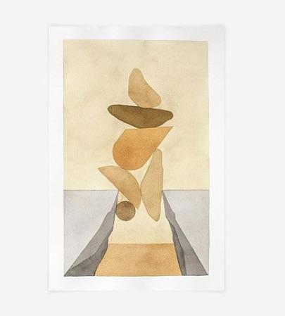 Allison Kunath- But it works - Watercolor